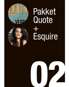 Pakket Quote + Esquire